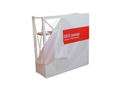 Portable Pop Up Counter Table